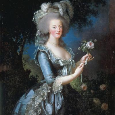 The exhibition about Marie Antoinette