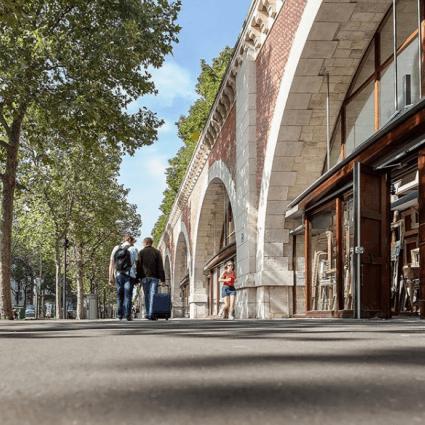 Promenade au Viaduc des Arts