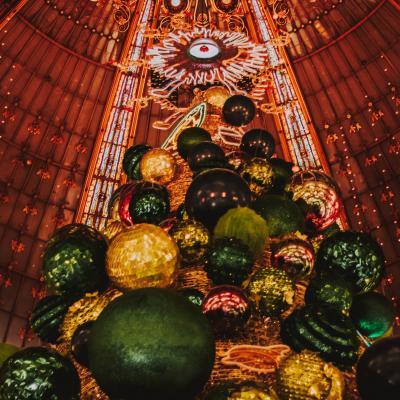 La magie de Noël aux Galeries Lafayette