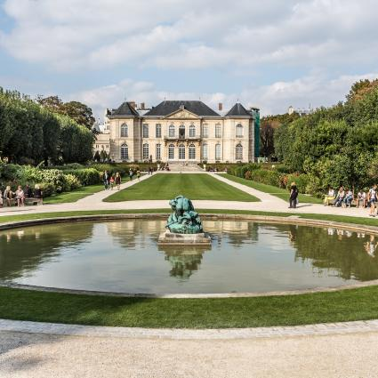The Rodin Museum and its wonderful garden