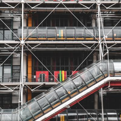 Discover modern and contemporary art at the Pompidou Center !