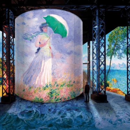 L'exposition « Monet, Renoir…Chagall », à l'Atelier des Lumières