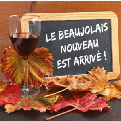 Le Beaujolais Nouveau has arrived !