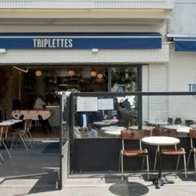 Les Triplettes, la terrasse de Belleville