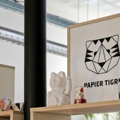 Papier Tigre, la papeterie à la page