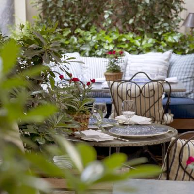 Pause shopping en terrasse