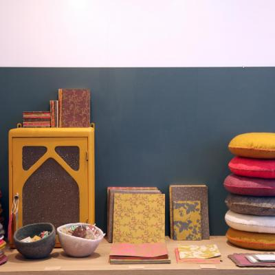 Muskhane, clothing and home wares in natural materials