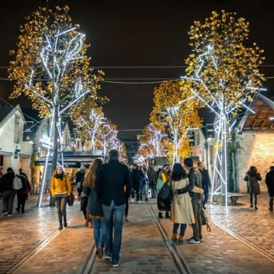 Christmas Time at Bercy Village