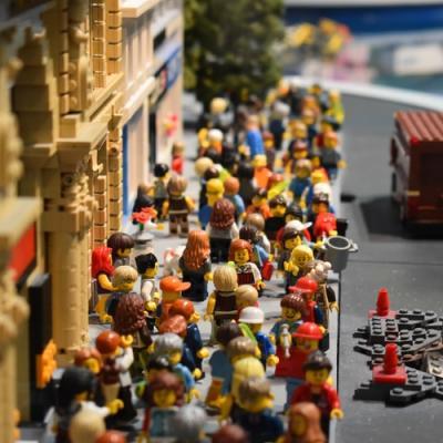 Le Noël des Playmobil aux Invalides