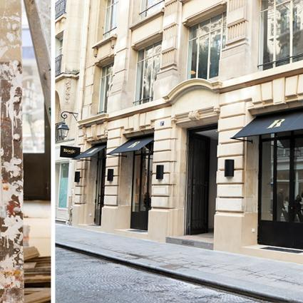 Rouje, the first boutique of the french it girl Jeanne Damas