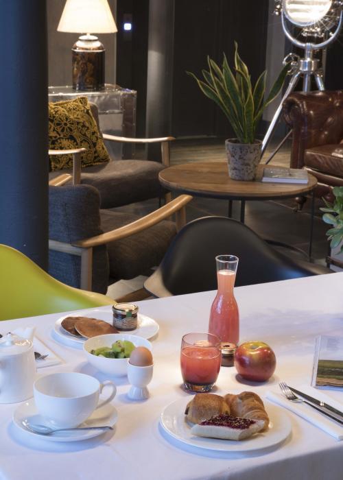 Hôtel Fabric - Buffet de café da manhã