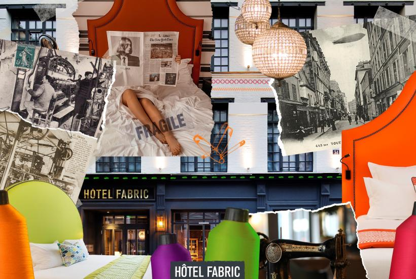 Hotel Fabric - Camere